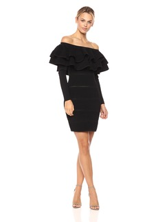 Keepsake The Label Women's Over Time Ruffle Off The Shoulder Dress