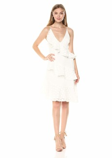 Keepsake The Label Women's See You Now Dress W/Ivory M