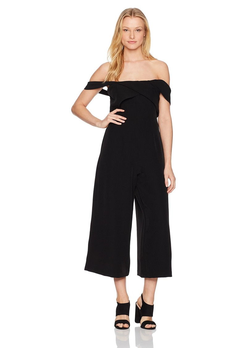 Keepsake The Label Women's Shooting Star Off Shoulder Jumpsuit