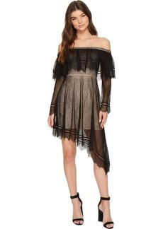 Keepsake The Label Women's Slide Cold Shoulder Lace Midi Dress