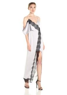 Keepsake The Label Women's Stop Me Lace Trim Maxi Dress  S