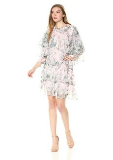 Keepsake The Label Women's Sweet Love Longsleeve Mini Dress sage Rose Floral M