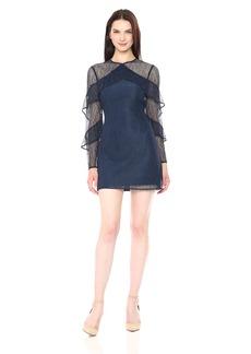 Keepsake The Label Women's Wide Awake L/s Mini Dress  XS