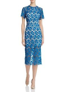 Keepsake This Moment Lace Midi Dress