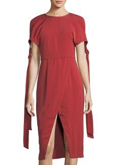 Two-Minds Cold-Shoulder Dress