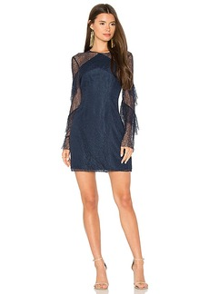 keepsake Wide Awake Dress in Navy. - size M (also in S,XS, XXS)
