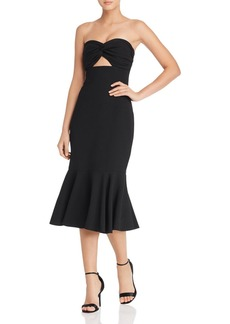 Keepsake Without You Cutout Midi Dress - 100% Exclusive