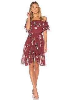 Last Dance Ruffle Mini Dress