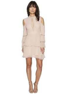 Keepsake Night Dance Long Sleeve Mini Dress