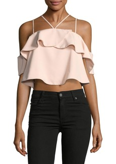 Keepsake Serendipity Cold Shoulder Top