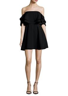 Keepsake Serenity Ruffled Mini Dress