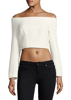 Keepsake Solid Cropped Top