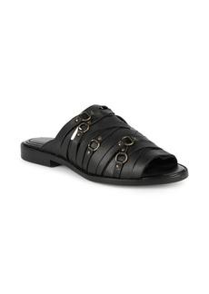 Kelsi Dagger Classic Leather Flat Sandals