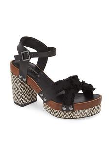 Kelsi Dagger Brooklyn Flora Woven Platform Sandal (Women)