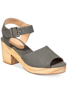 Kelsi Dagger Brooklyn Montgomery Block-Heel Sandals Women's Shoes