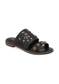 Kelsi Dagger Brooklyn Raven Embellished Slide Sandal (Women)