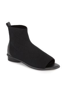 Kelsi Dagger Brooklyn Simon Peep Toe Flat Bootie (Women)