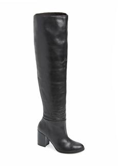 Kelsi Dagger Brooklyn Walker Over the Knee Scrunch Boot (Women) (Wide Calf)