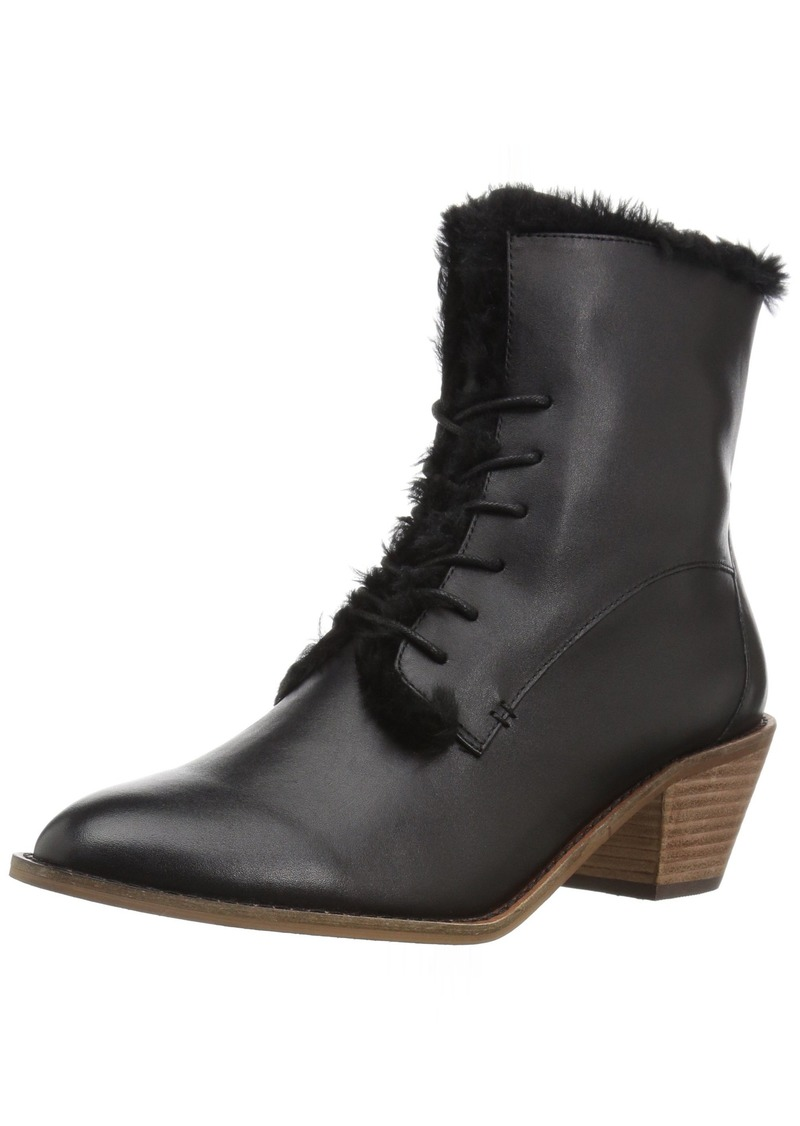 KELSI DAGGER BROOKLYN Women's Kingsdale Ankle Boot Black  Medium US