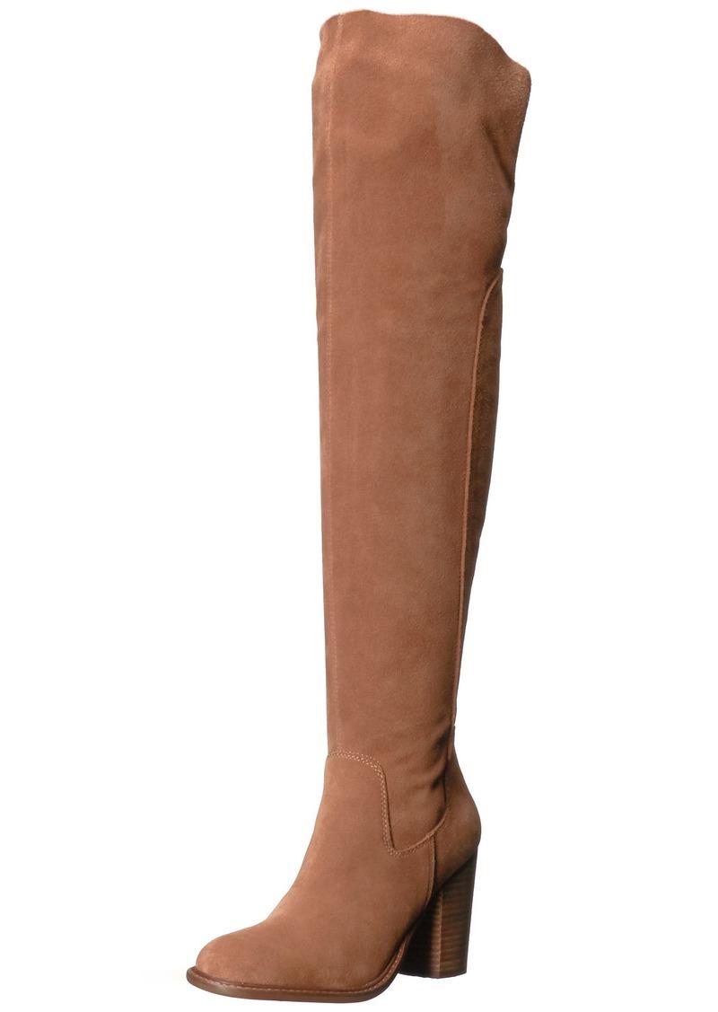KELSI DAGGER BROOKLYN Women's Logan Over The Over The Knee Boot  5.5 Medium US