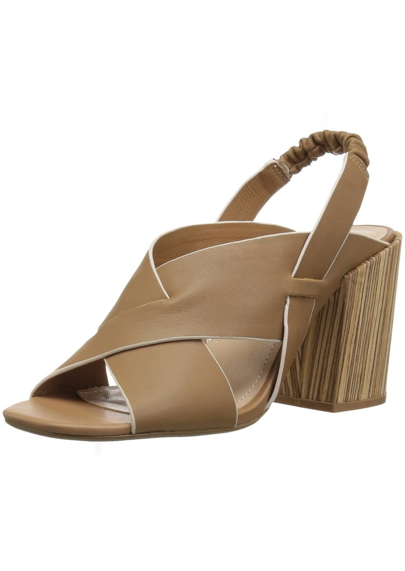 KELSI DAGGER BROOKLYN Women's Mazy Heeled Sandal tan  M US