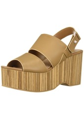 KELSI DAGGER BROOKLYN Women's Nash Heeled Sandal tan