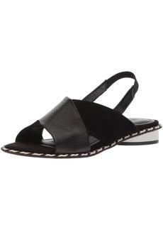 KELSI DAGGER BROOKLYN Women's Saline Flat Sandal   M US