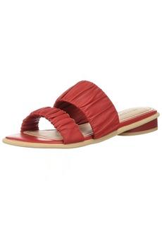 Kelsi Dagger Brooklyn Women's Surf Flat Sandal red