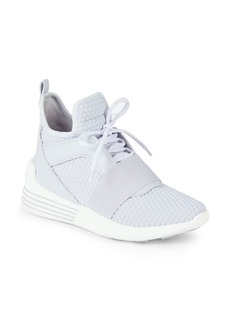 Kendall + Kylie Braydin Textured High-Top Sneakers