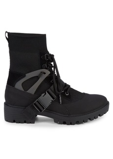 Kendall + Kylie Eclipse Combat Sock Booties