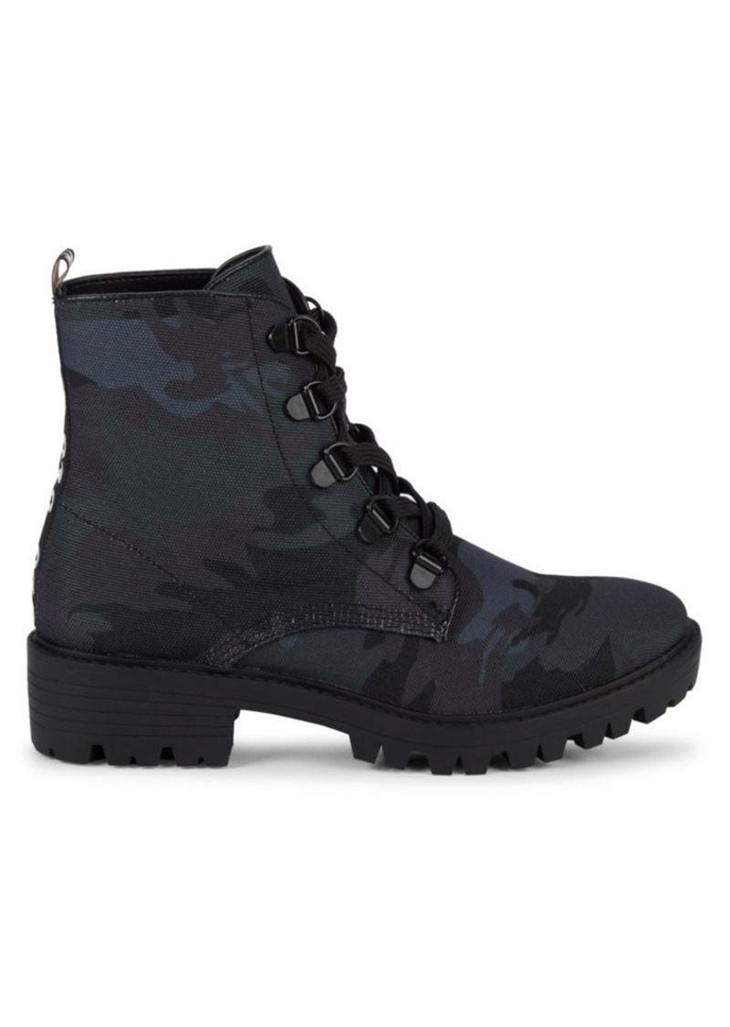 Kendall + Kylie Epic Camo Combat Boots