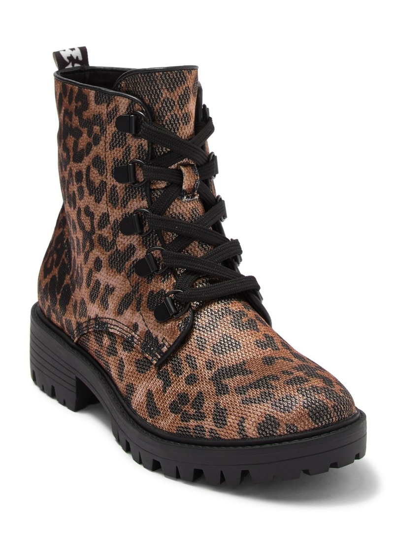Kendall + Kylie Epic Lace-Up Combat Boot