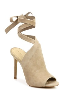 Kendall + Kylie Evelyn Suede Ankle-Tie Sandals