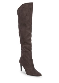 Kendall + Kylie Zanna Faux-Suede Over-the-Knee Boots