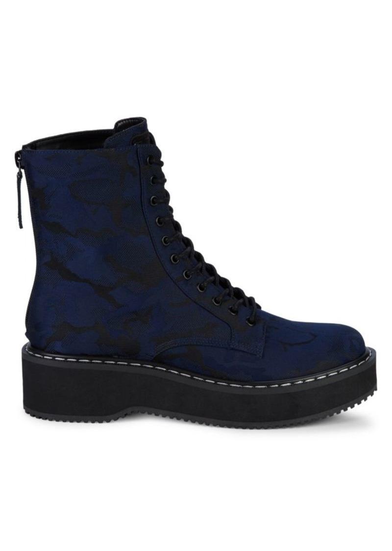 Kendall + Kylie Hunt Platform Combat Boots