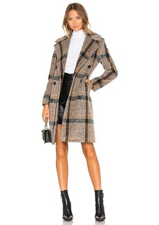 KENDALL + KYLIE Double Breasted Long Coat