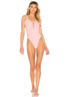 KENDALL + KYLIE Lace Up One Piece