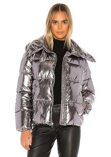 KENDALL + KYLIE Metallic Puffer Jacket