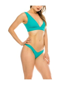 Kendall + Kylie Plunge 2 Piece Swimsuit Women's Swimsuit