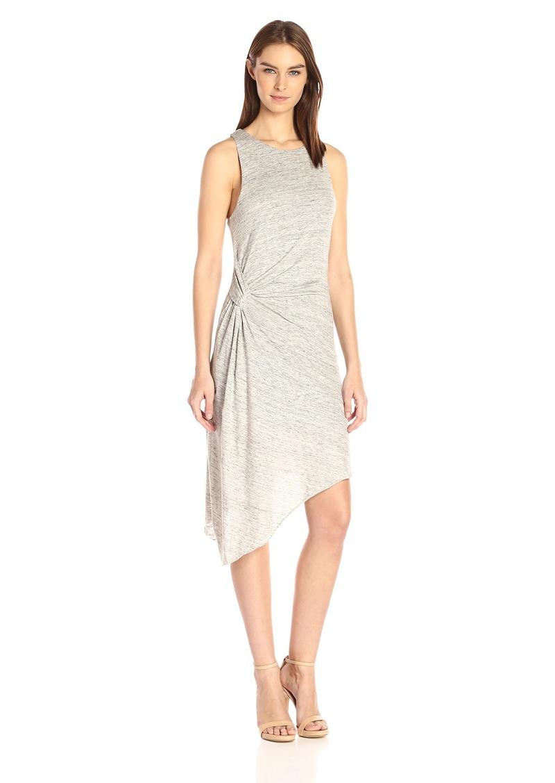 KENDALL + KYLIE Women's Asymmetric Ruched Dress  L
