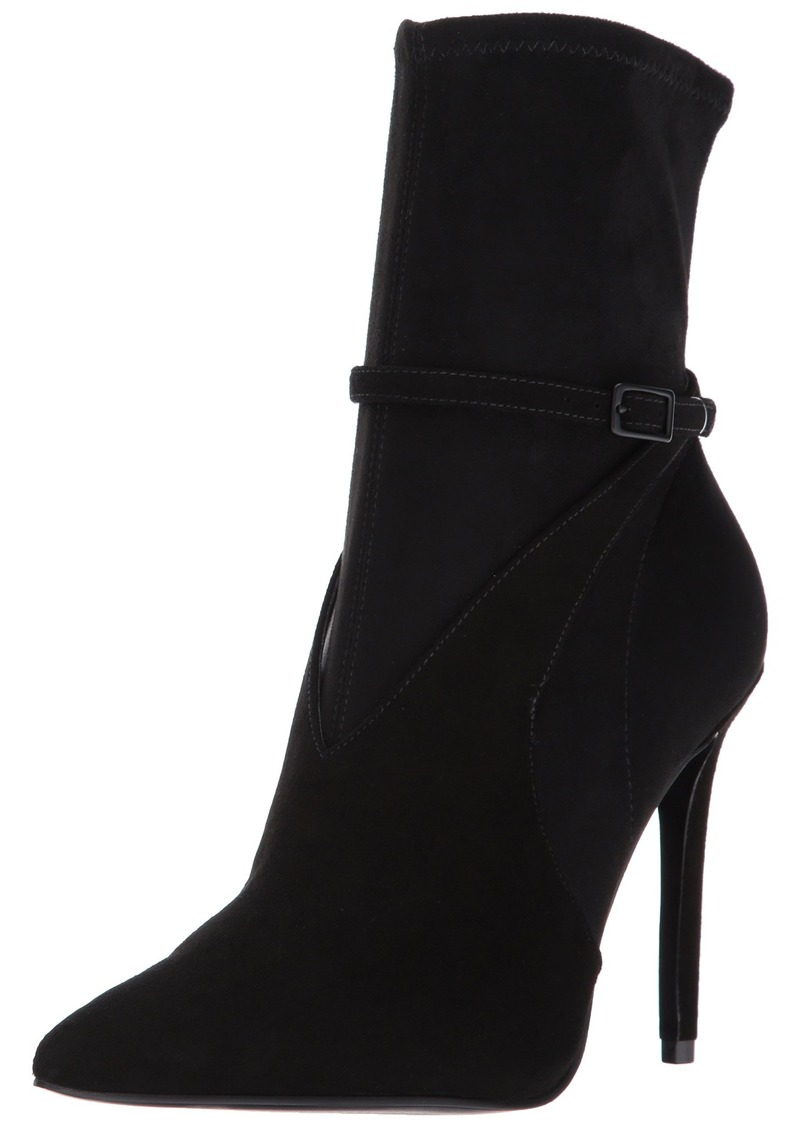 KENDALL + KYLIE Women's Autum Fashion Boot Black  Medium US