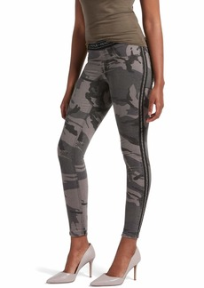 Kendall + Kylie Women's Camo Denim Leggings