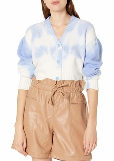 KENDALL + KYLIE Women's Cropped Cardigan - Amazon Exclusive