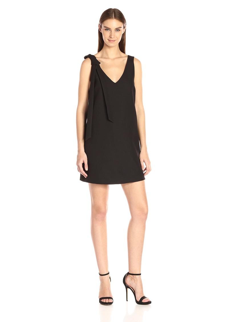 KENDALL + KYLIE Women's Double Vneck Dress  M