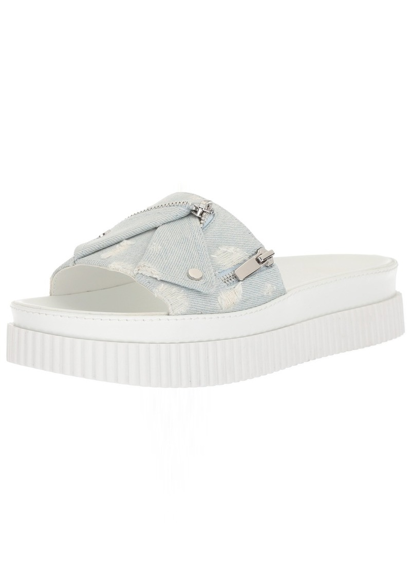 KENDALL + KYLIE Women's Icon Slide Sandal   M US