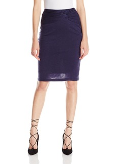 Kendall + Kylie Women's Knotted Pencil Skirt  XS