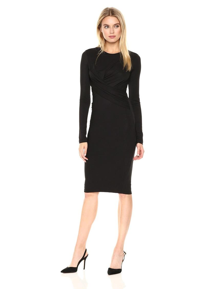 KENDALL + KYLIE Women's L/s Twist Dress  S