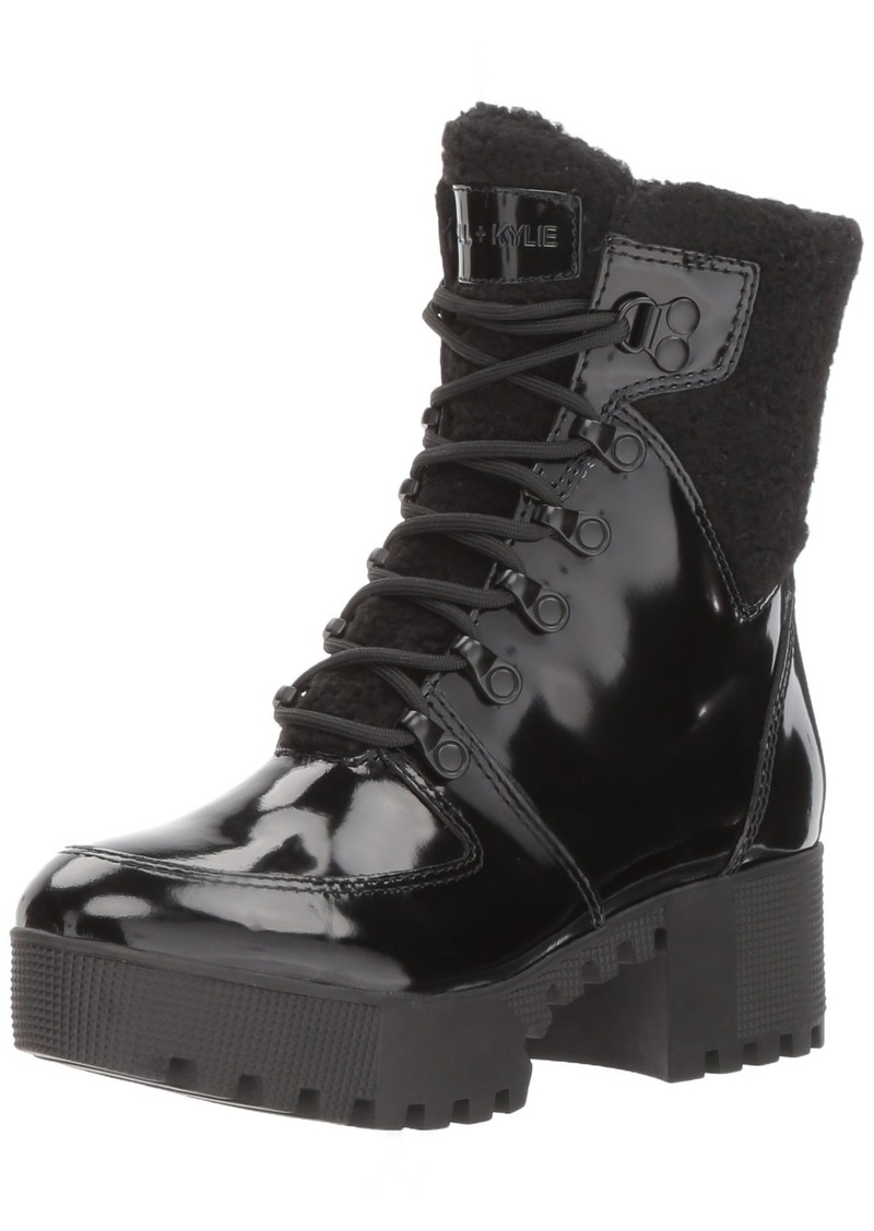 KENDALL + KYLIE Women's Paxton Combat Boot  8.5 Medium US
