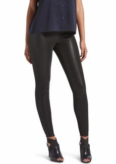 Kendall + Kylie Women's Pebbled Faux Leather Leggings BLACK