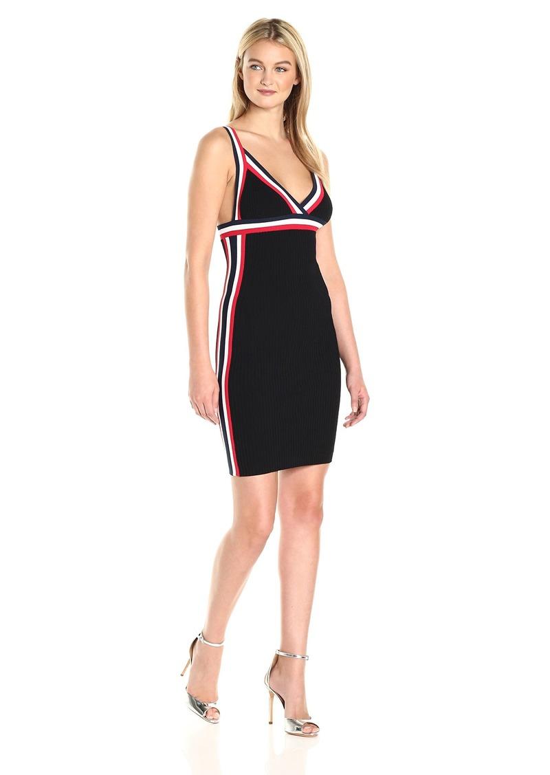 Kendall + Kylie Women's Rainbow Trim Dress  XS